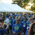 Shoes and glow lead fifth annual race