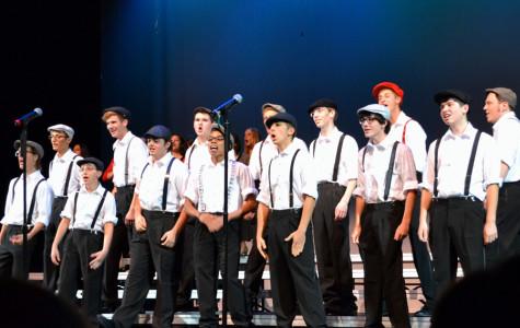 Choir takes over disney