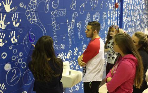 NAHS transforms senior wall