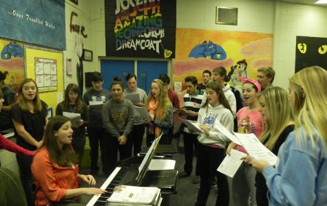 Choir prepares for winter concerts