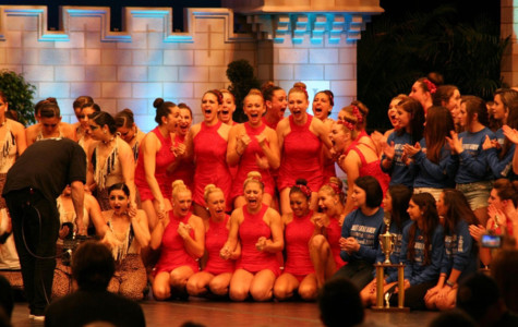 Dance team takes first place