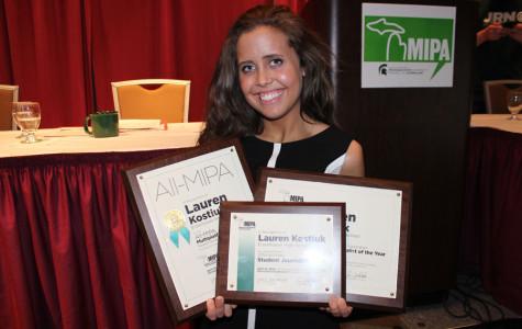 Kostiuk earns top journalism honors