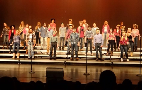 Choir students go country