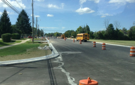 25 Mile Road under construction