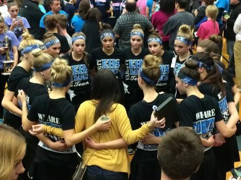 Varsity dance team competes at regionals
