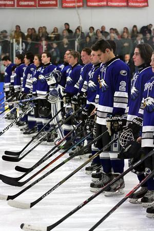 Varsity hockey remains undefeated