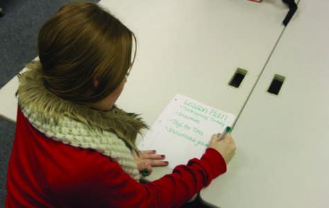 Future Educators teach LCCE Students
