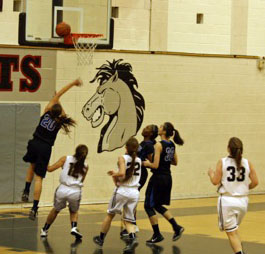 Girls varsity basketball game review