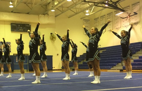 Cheerleaders make a change