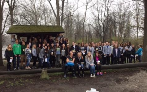 AP Enviromental science classes test water at Yates