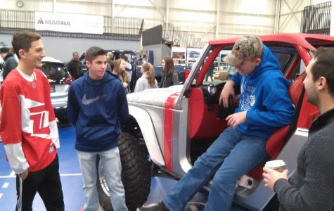 Designers learn auto manufacturing