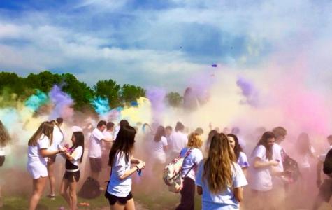 Splash into color