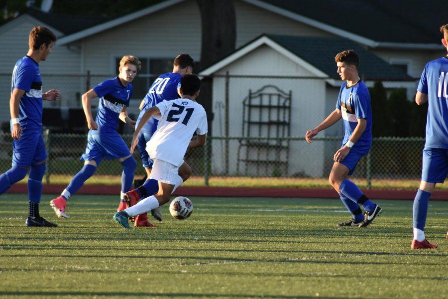 Slideshow: Ike boys varsity soccer vs. Dakota
