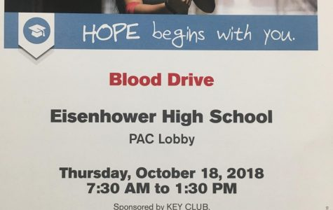 Eisenhower blood drive