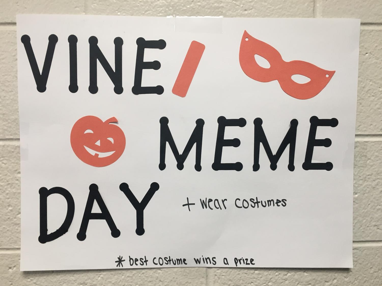 Vine/meme day takes place on Halloween.