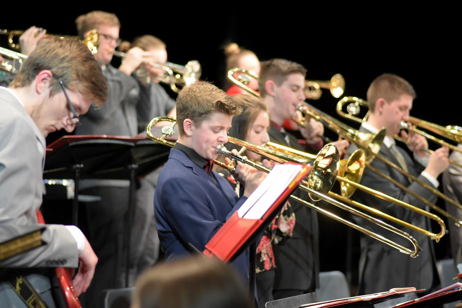 The Jazz Ensemble will be performing on March 22 for the MSBOA State Jazz Festival.