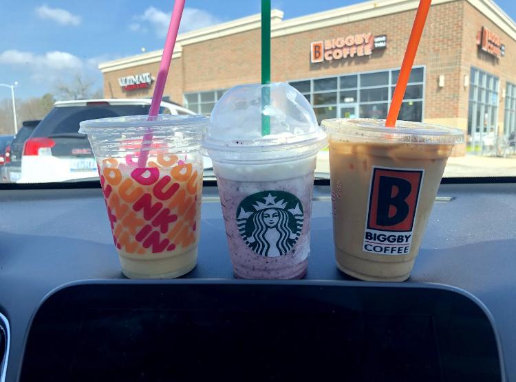 Spring coffee specialties