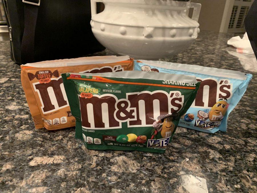 New Peanut M&M's