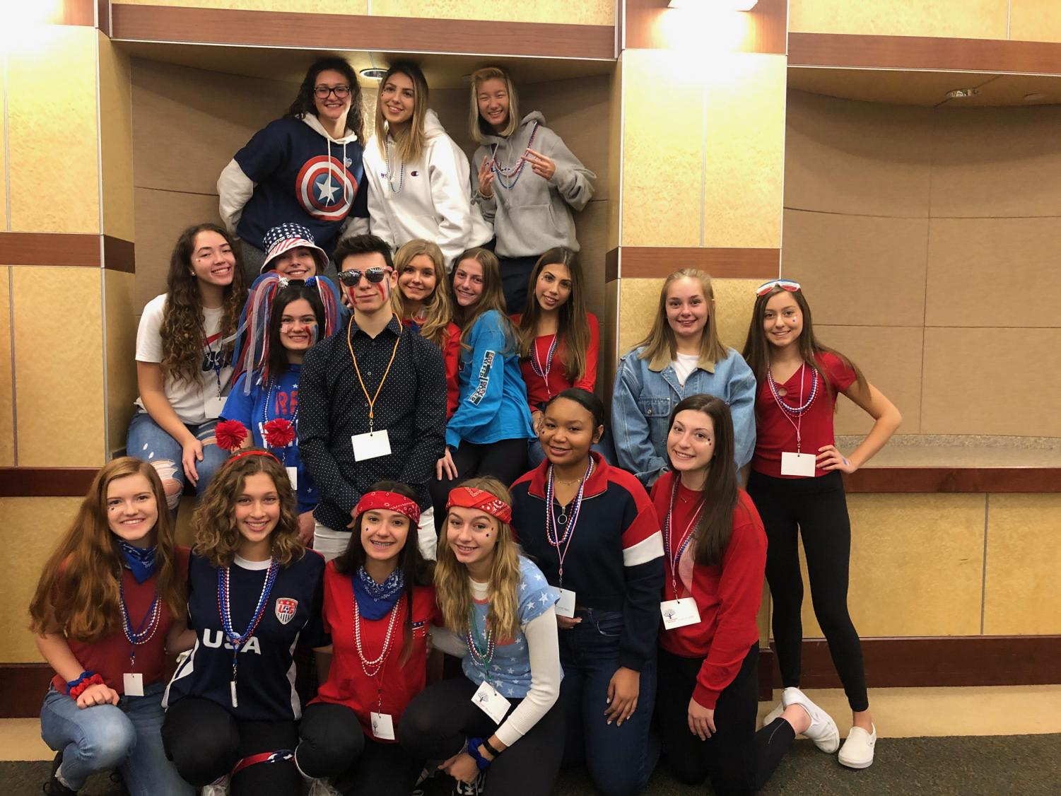 "This year's sophomore student council members attended a leadership conference at the LTI. ""I really didn't think I was going to get in [student council],"" sophomore Gianna Valenti said. At the conference, they participated in different leadership activities."