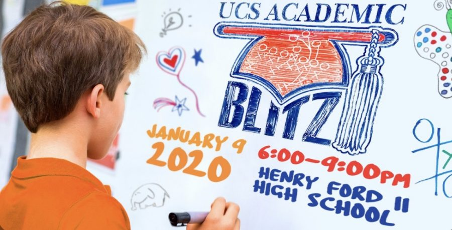 The+Academic+Blitz+takes+place+at+Henry+Ford+II+on+Jan.+9+at+6+p.m.%2C+where+students+and+their+families+choose+up+to+three+sessions.+