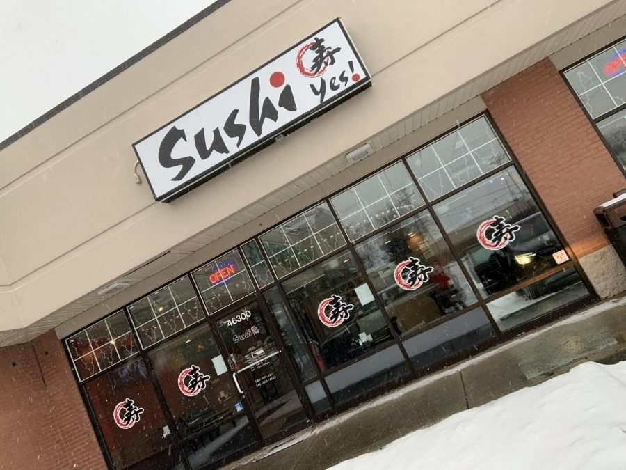 Sushi yes review