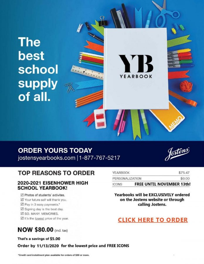 Principal+Jared+McEvoy+sent+posters+promoting+the+yearbook+via+email+to+parents.+%E2%80%9CWe+offer+the+best+price+the+earlier+in+the+year+that+you+buy%2C%E2%80%9D+publications+adviser+Erica+Kincannon+said.+Buying+a+yearbook+earlier+guarantees+students+receive+one+and+allows+staff+to+plan+out+pages.+%0A