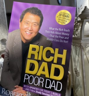 Rightfully considered the #1 Personal Finance book for more than 20 years, Rich Dad Poor Dad by Robert T. Kiyosaki, discusses what the author had learnt from growing up around two fathers with completely different views on money and in life in general; emphasizing the history and terminology behind the success of acquiring wealth explained in a simplistic yet approachable way.