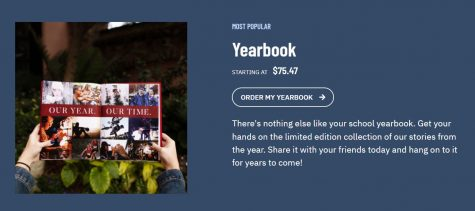 On Jostens website, you can find where to pre-order your own 2021-2022 yearbook
